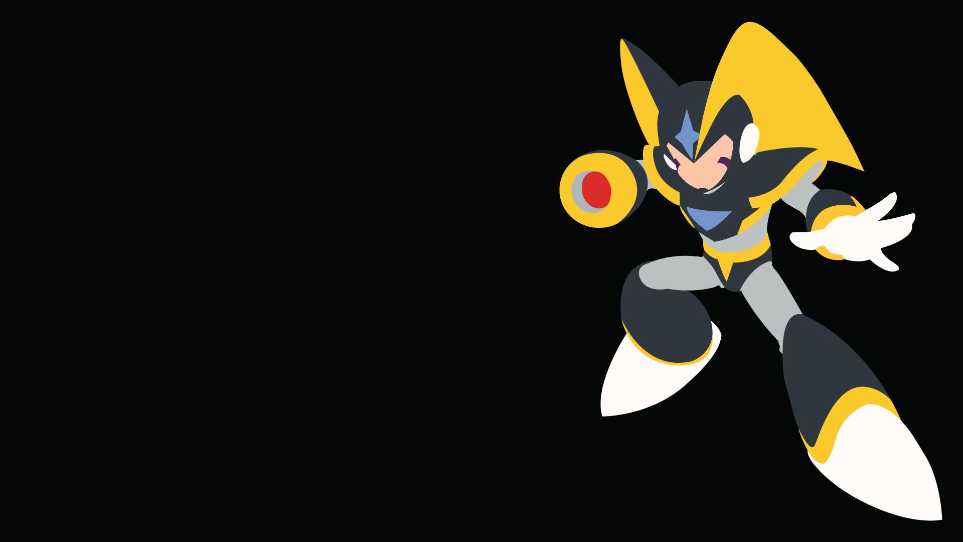 Bass Megaman Mega Man 10 Minimalist Wallpaper Resolution 1920x1080 Id 762032 Wallha Com