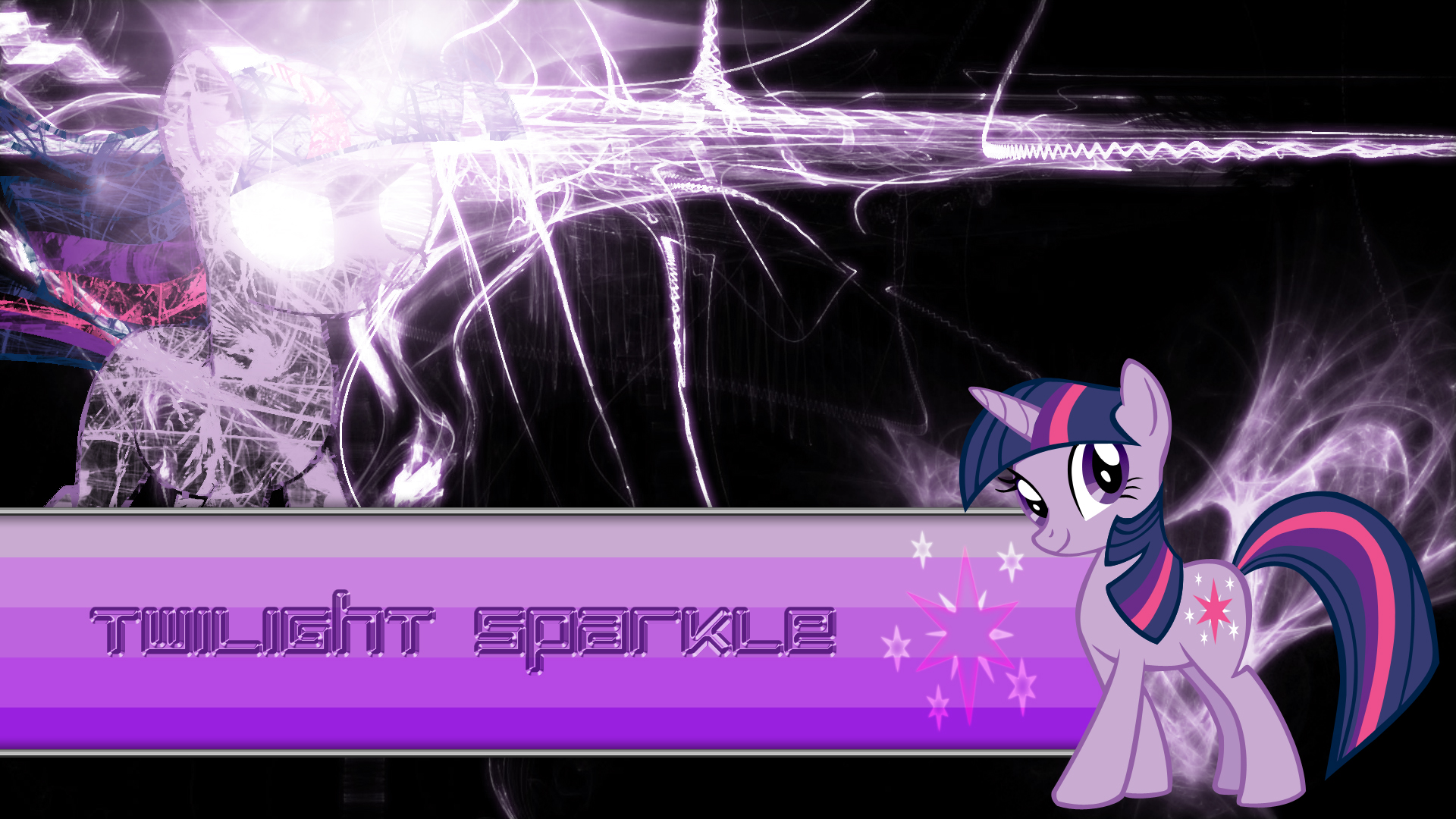Twilight My Little Pony Twilight Sparkle Vector Magic 1920x1080