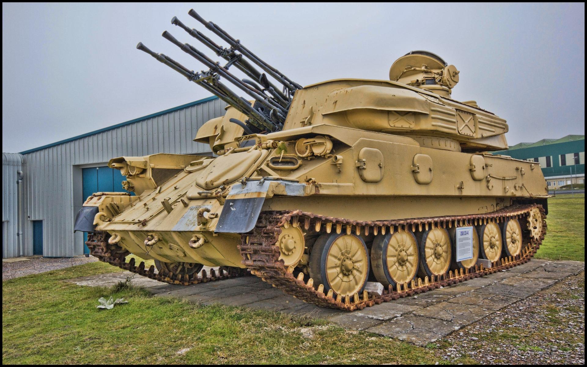 Military ZSU 23 4 1920x1200