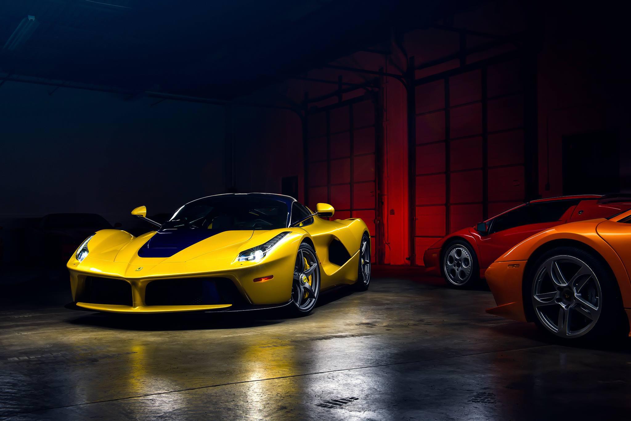 Ferrari Laferrari Ferrari Supercar Yellow Car Car Vehicle Wallpaper Resolution 2048x1367 Id 749119 Wallha Com