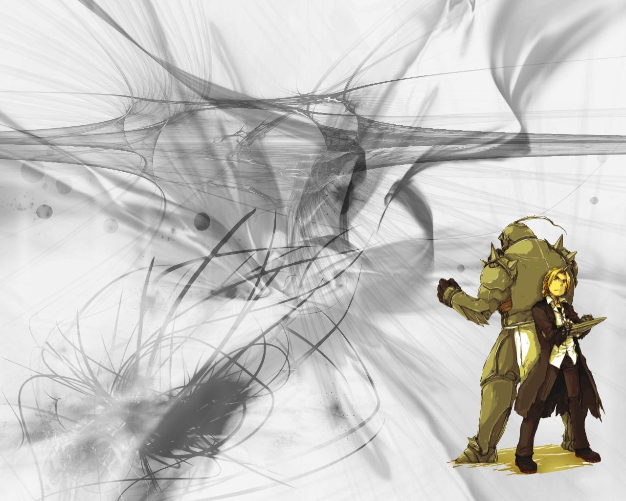 Alphonse Elric Edward Elric 1280x1024
