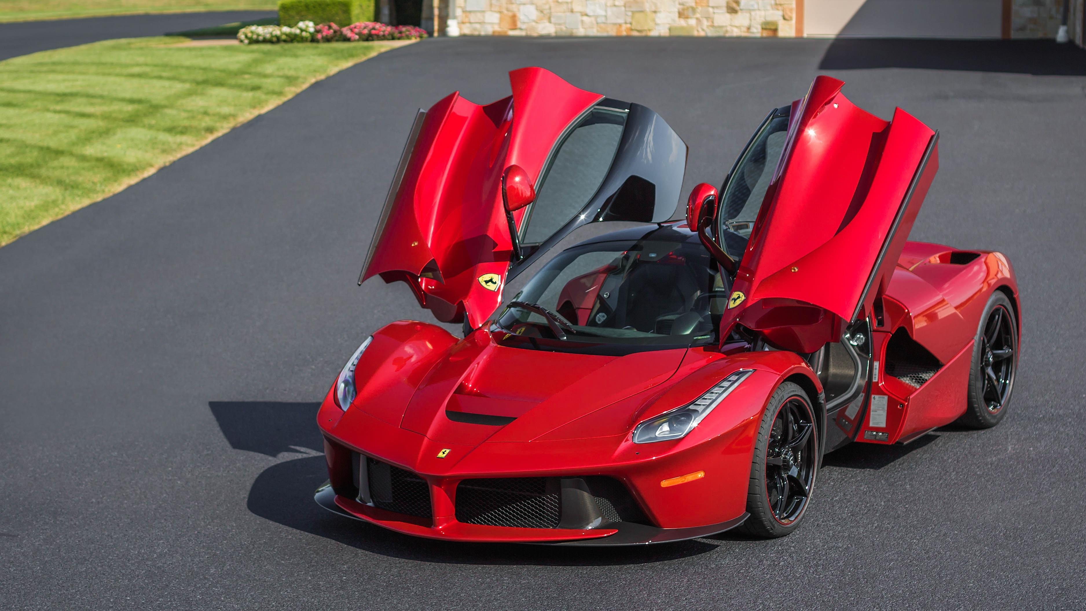 Car Ferrari Ferrari Laferrari Red Car Sport Car Supercar Vehicle Wallpaper Resolution 3752x2110 Id 780267 Wallha Com