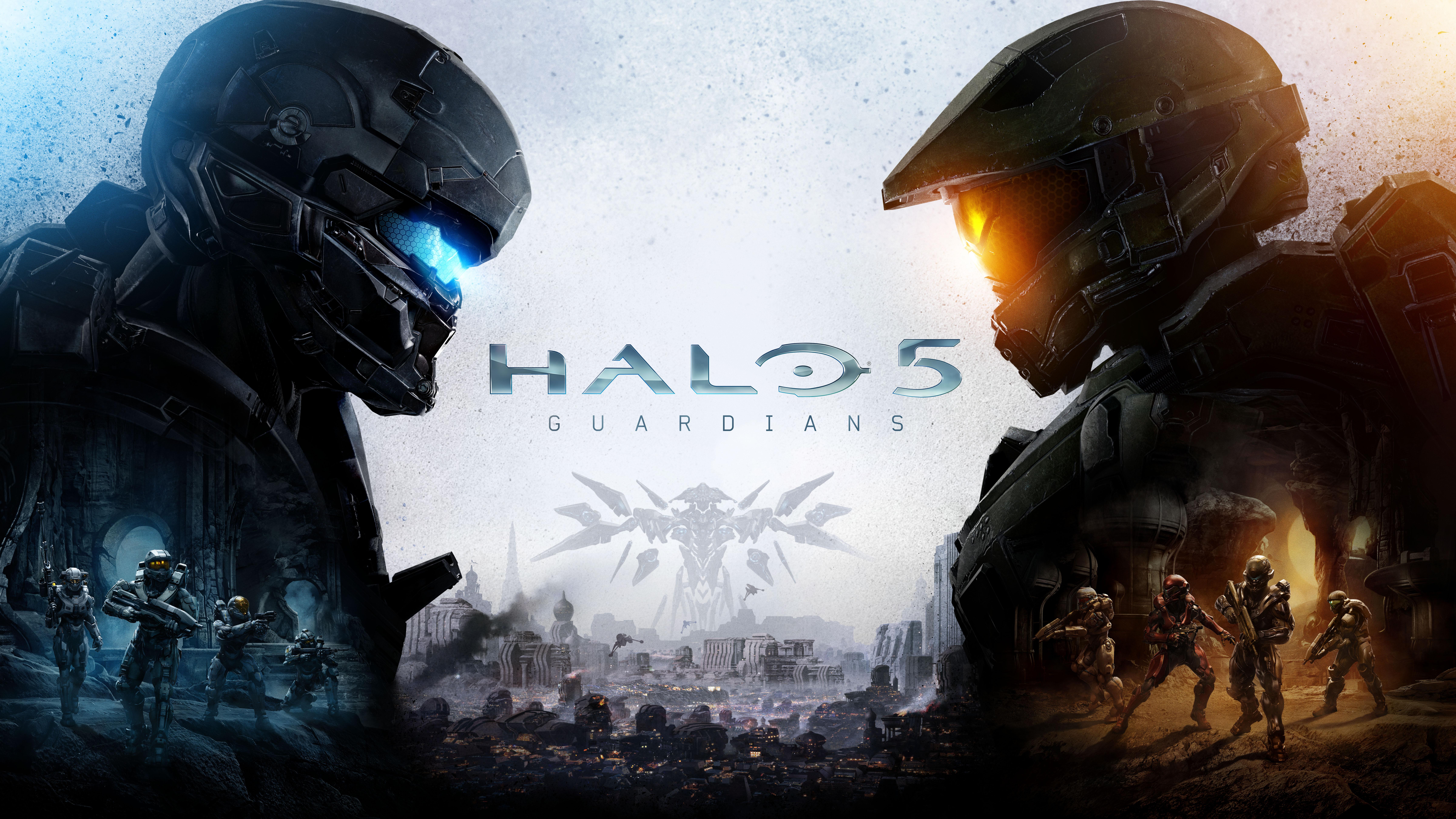 Halo 5 Guardians Halo Master Chief 9600x5400