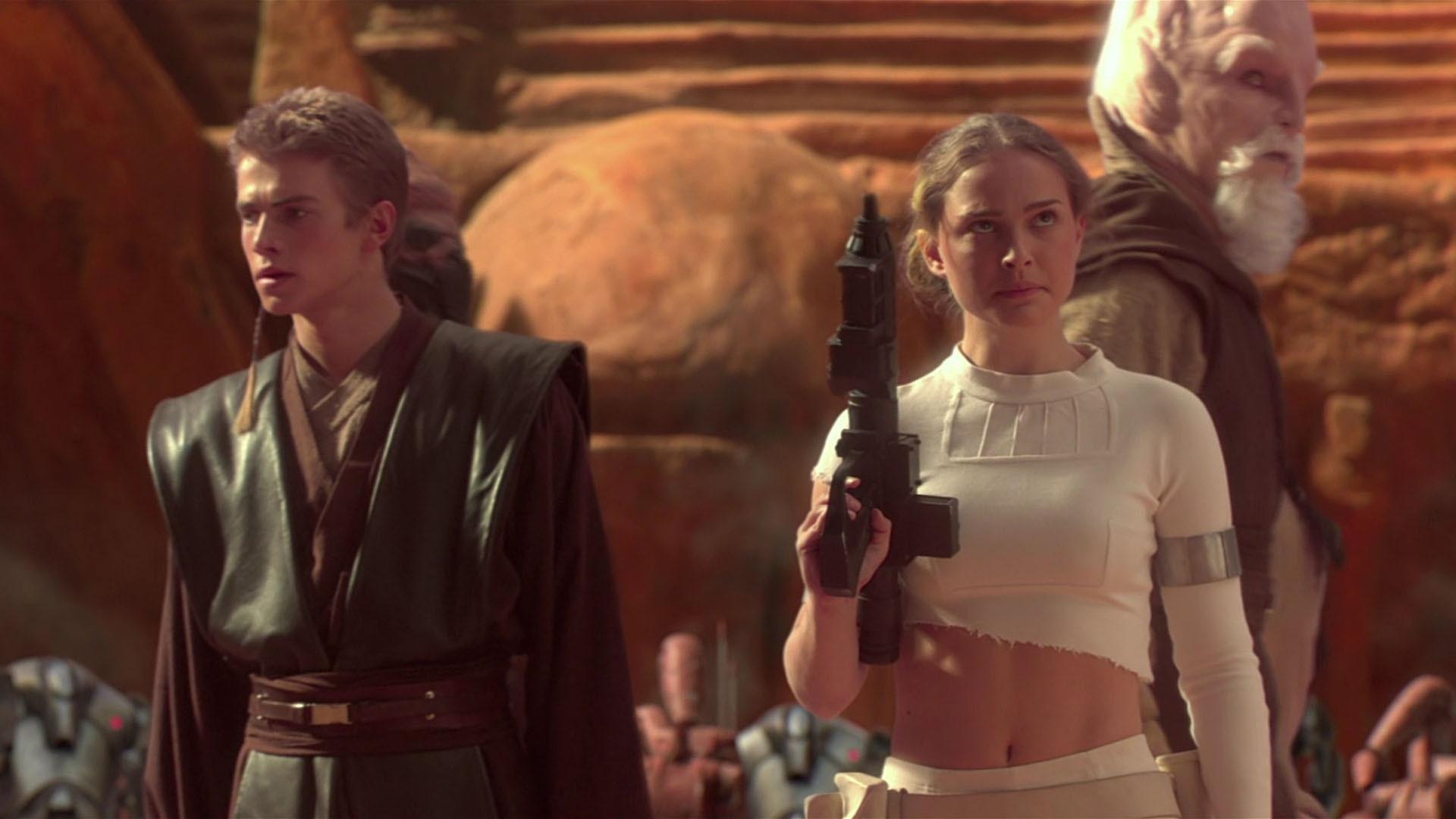 Anakin Skywalker Padme Amidala Hayden Christensen Natalie Portman Wallpaper Resolution 1920x1080 Id 736091 Wallha Com