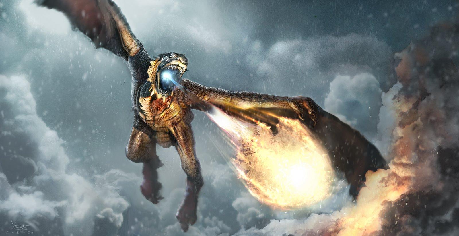Dragon Wyvern Fire 1600x822