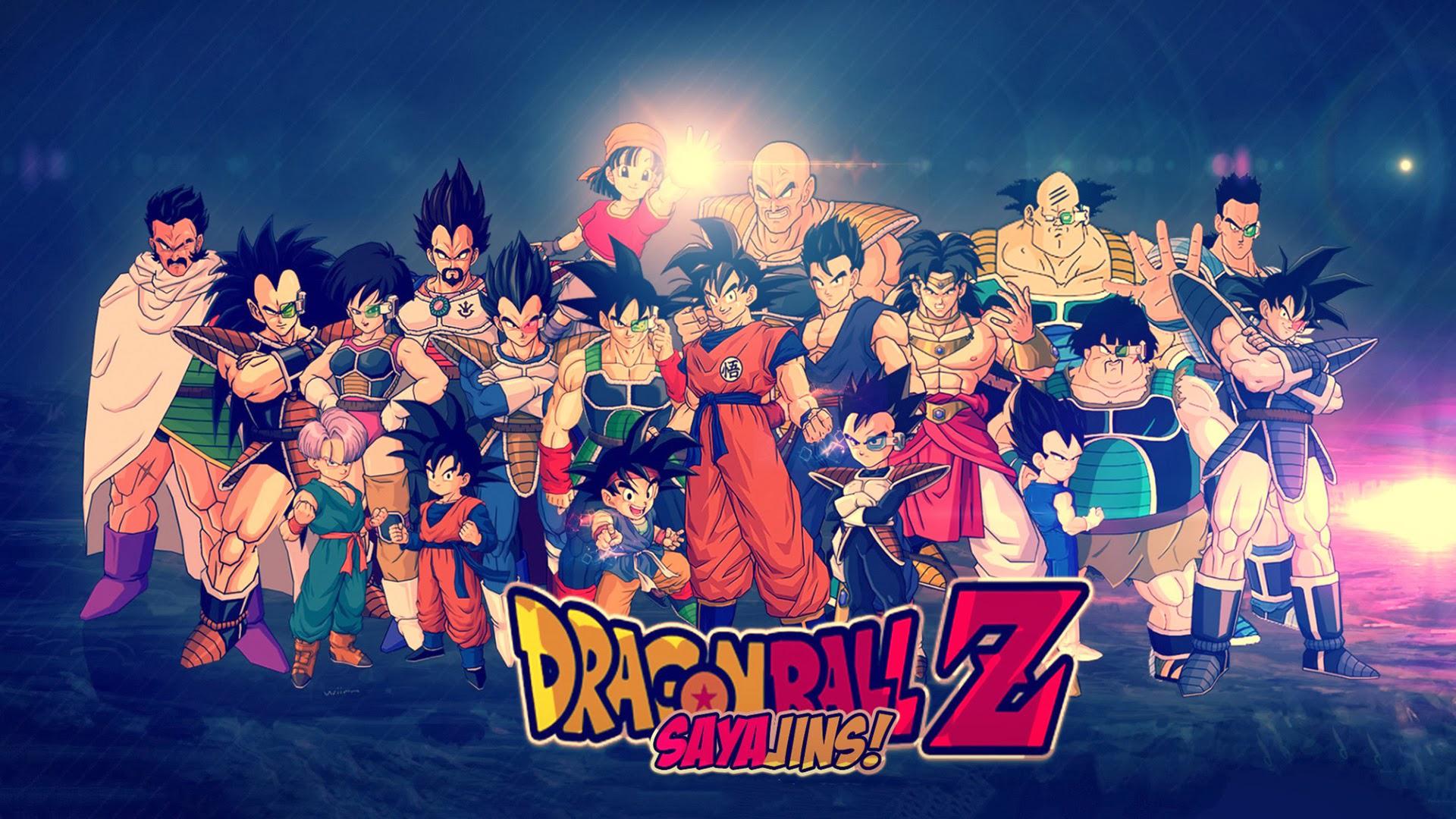 Bardock Dragon Ball Broly Dragon Ball Dragon Ball Z Goku Goten Dragon Ball Nappa Dragon Ball Trunks  1920x1080
