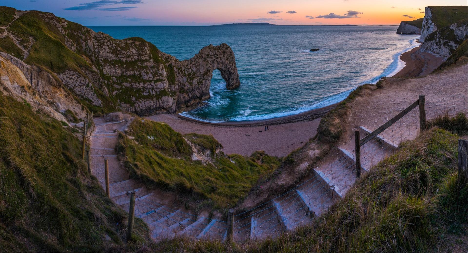 Nature Cliff Coast 1920x1040