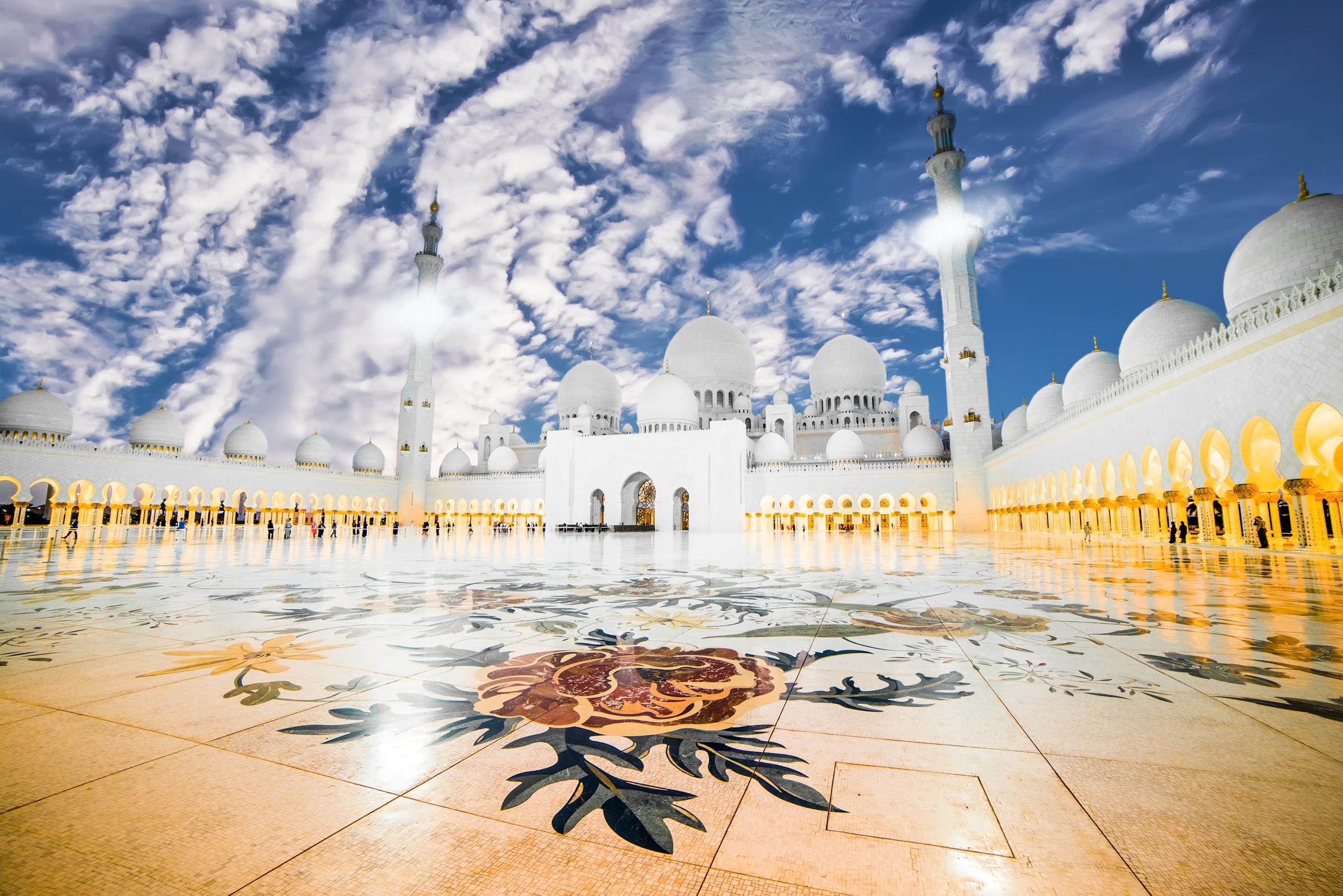 Religious Sheikh Zayed Grand Mosque 2472x1650