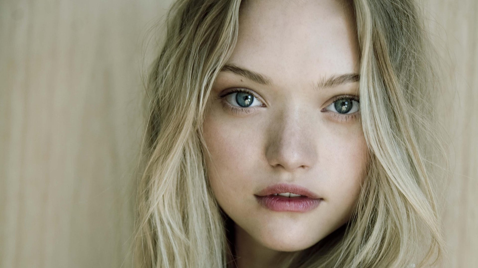 Australian Blonde Blue Eyes Face Gemma Ward Model Wallpaper -  Resolution:1920x1080 - ID:871789 - wallha.com