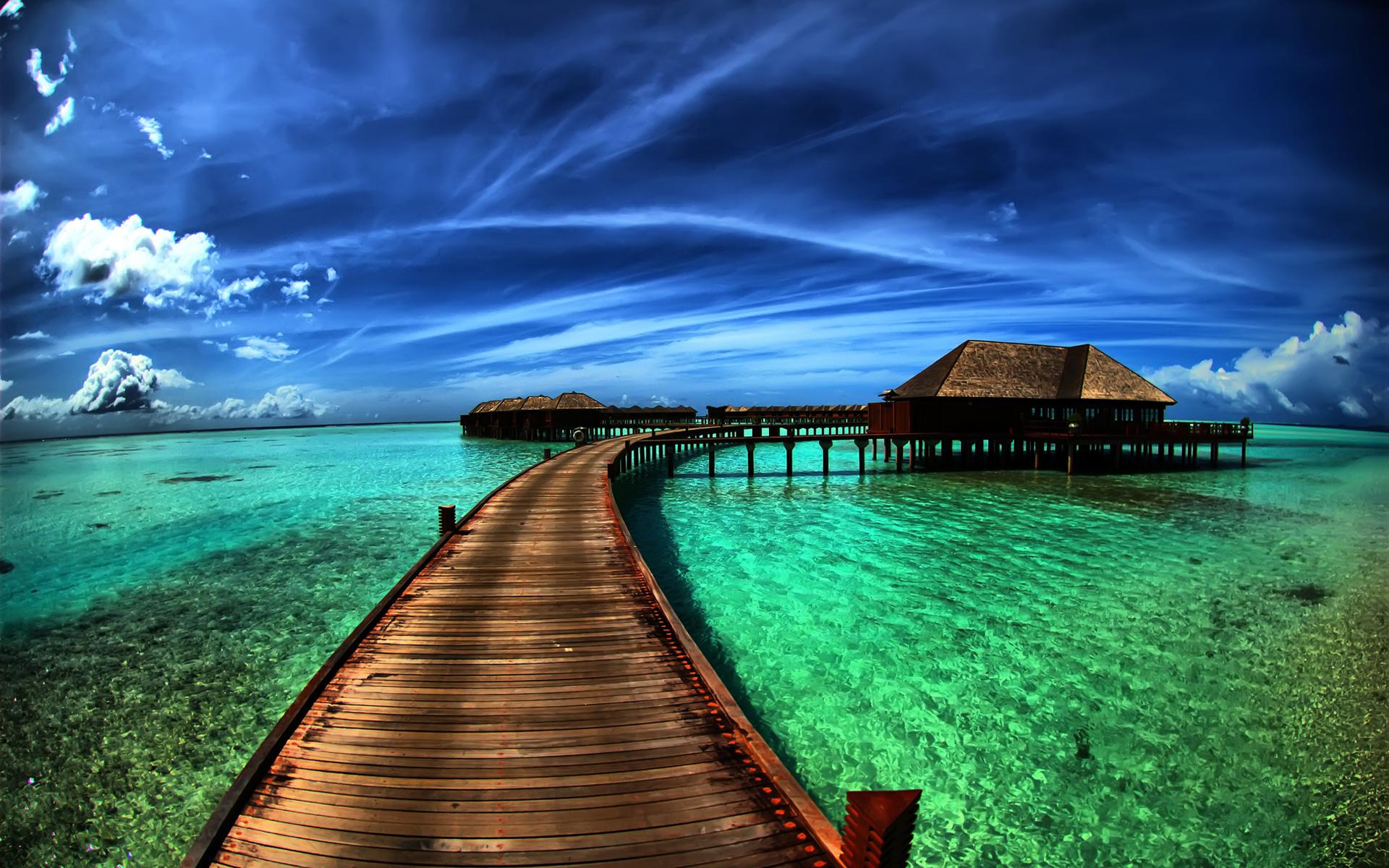 Holiday Ocean Resort Sky Tropical 1920x1200