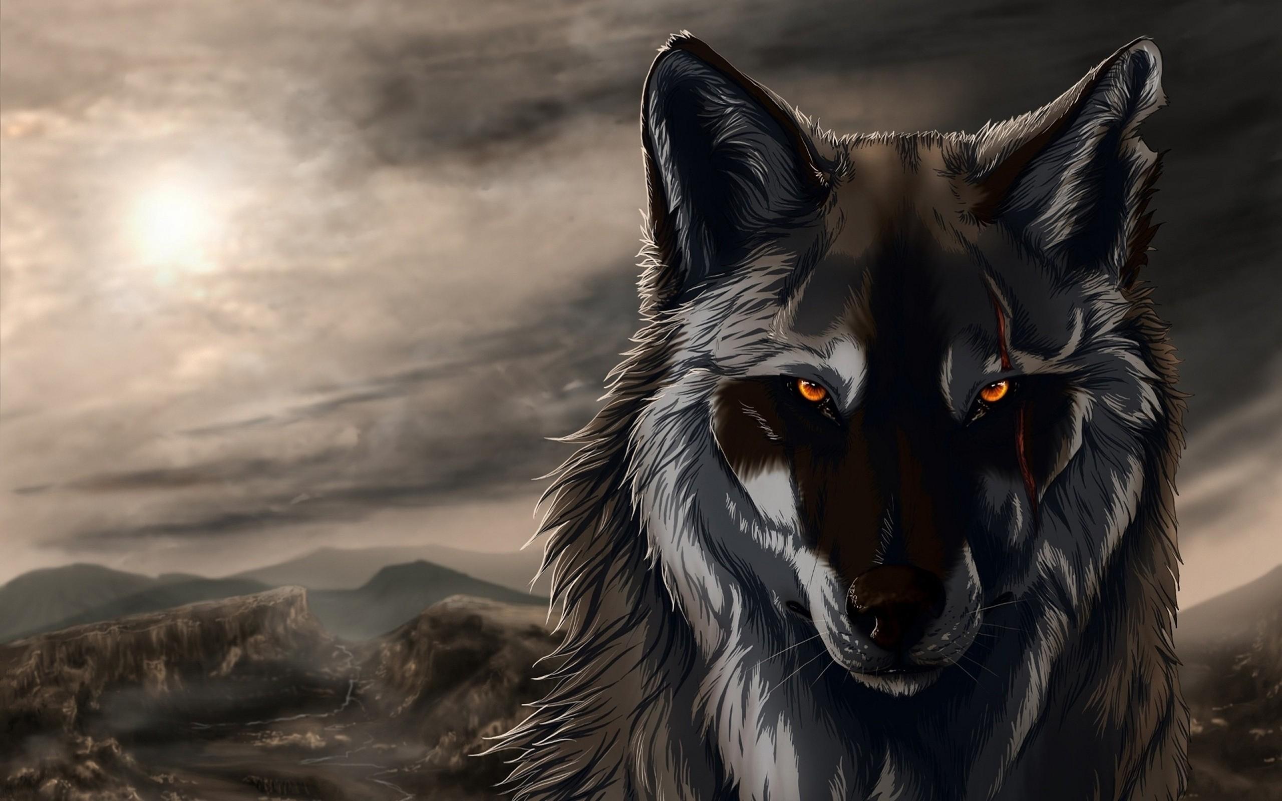 Dark Wolf 2560x1600