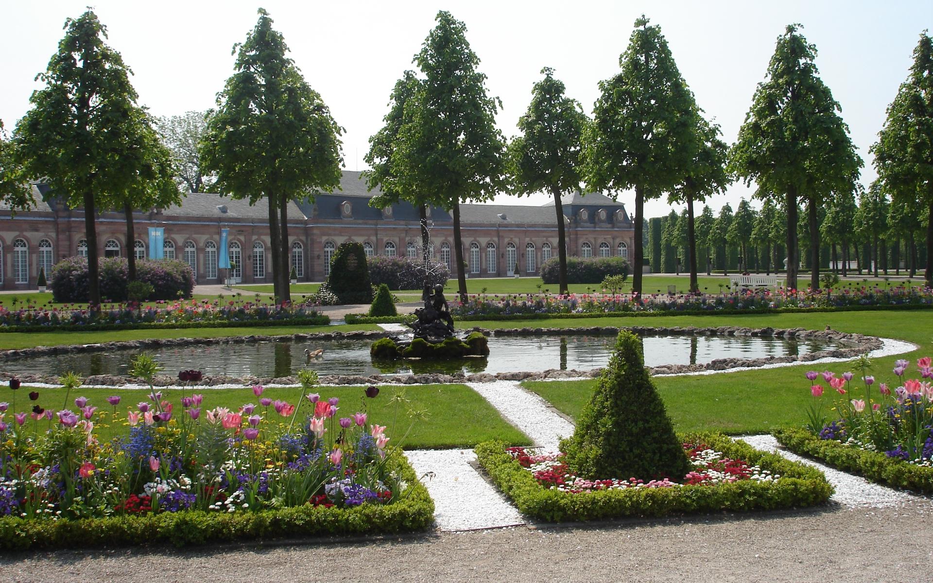 Man Made Schwetzingen Palace 1920x1200