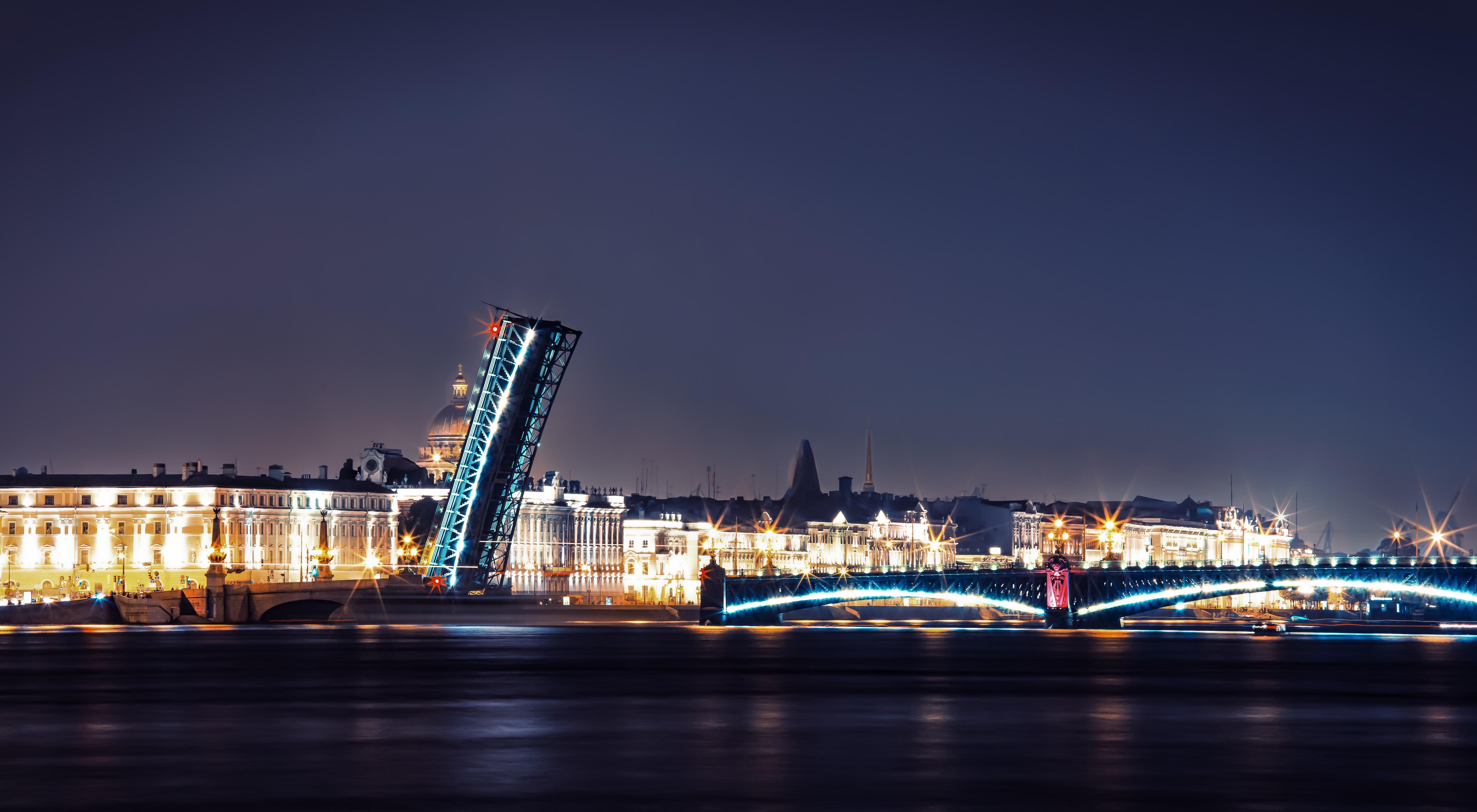 Man Made Saint Petersburg 5333x2934