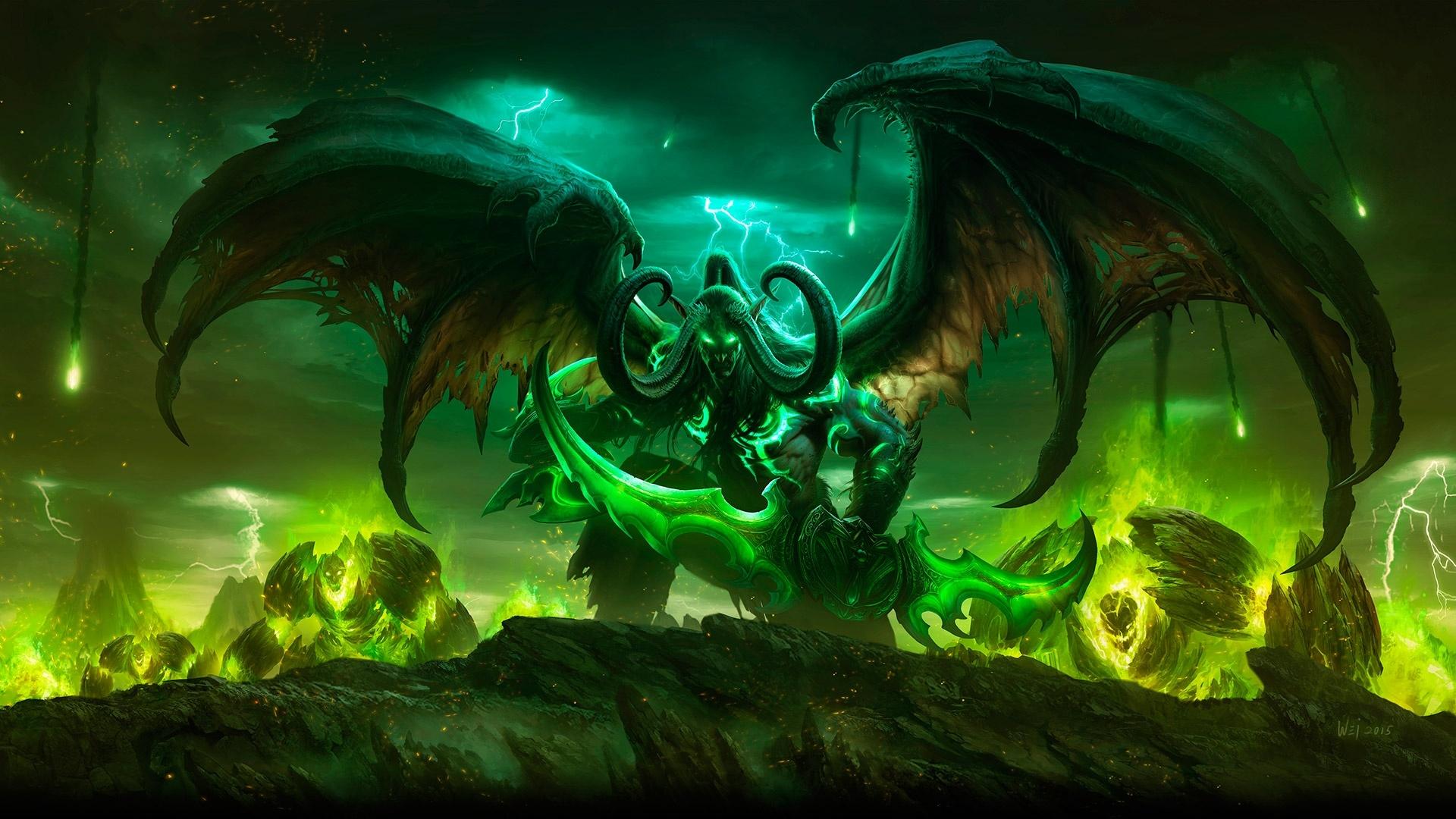 Video Game World Of Warcraft Legion 1920x1080