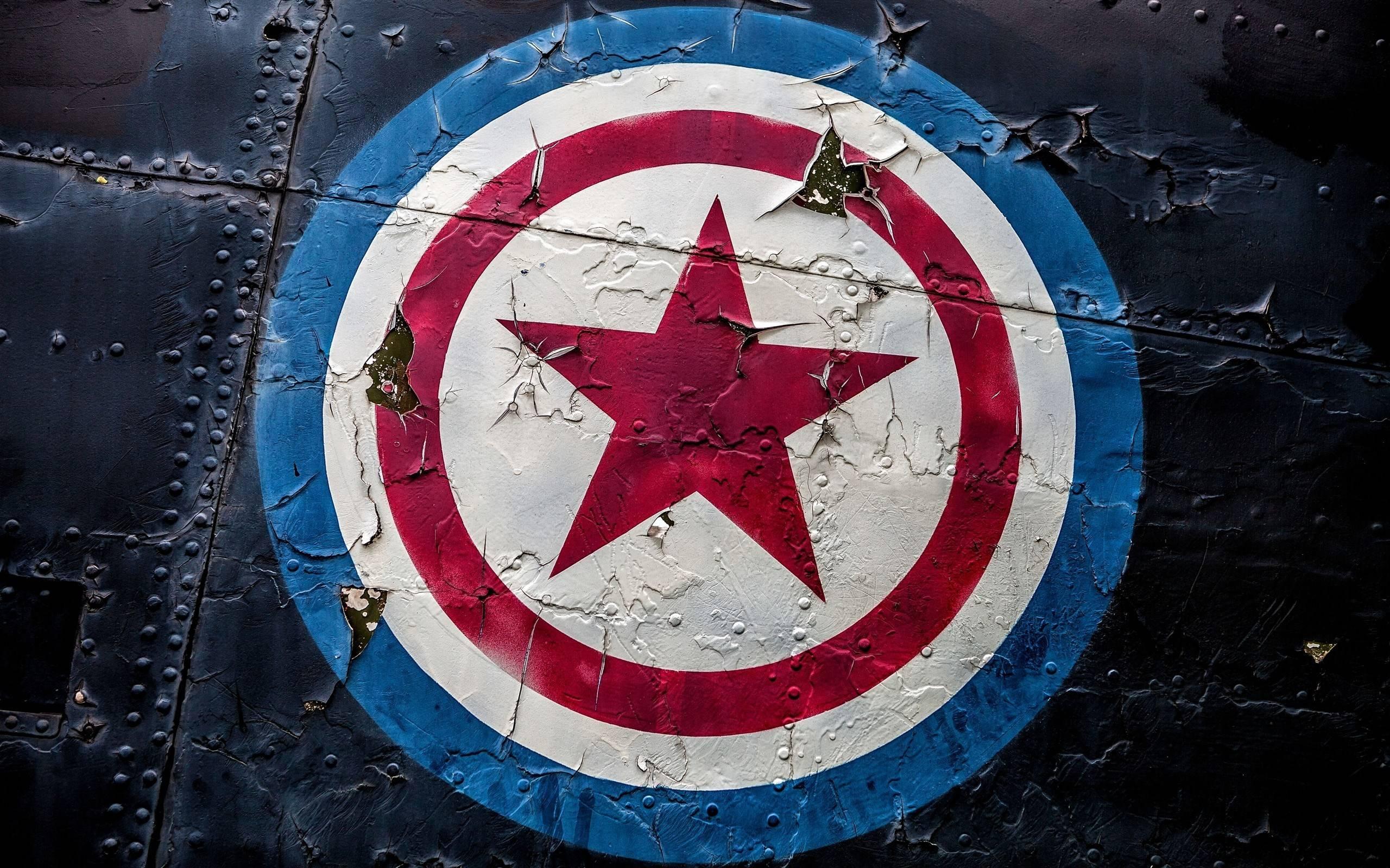 Captain America Comics Logo Marvel Comics 2560x1600