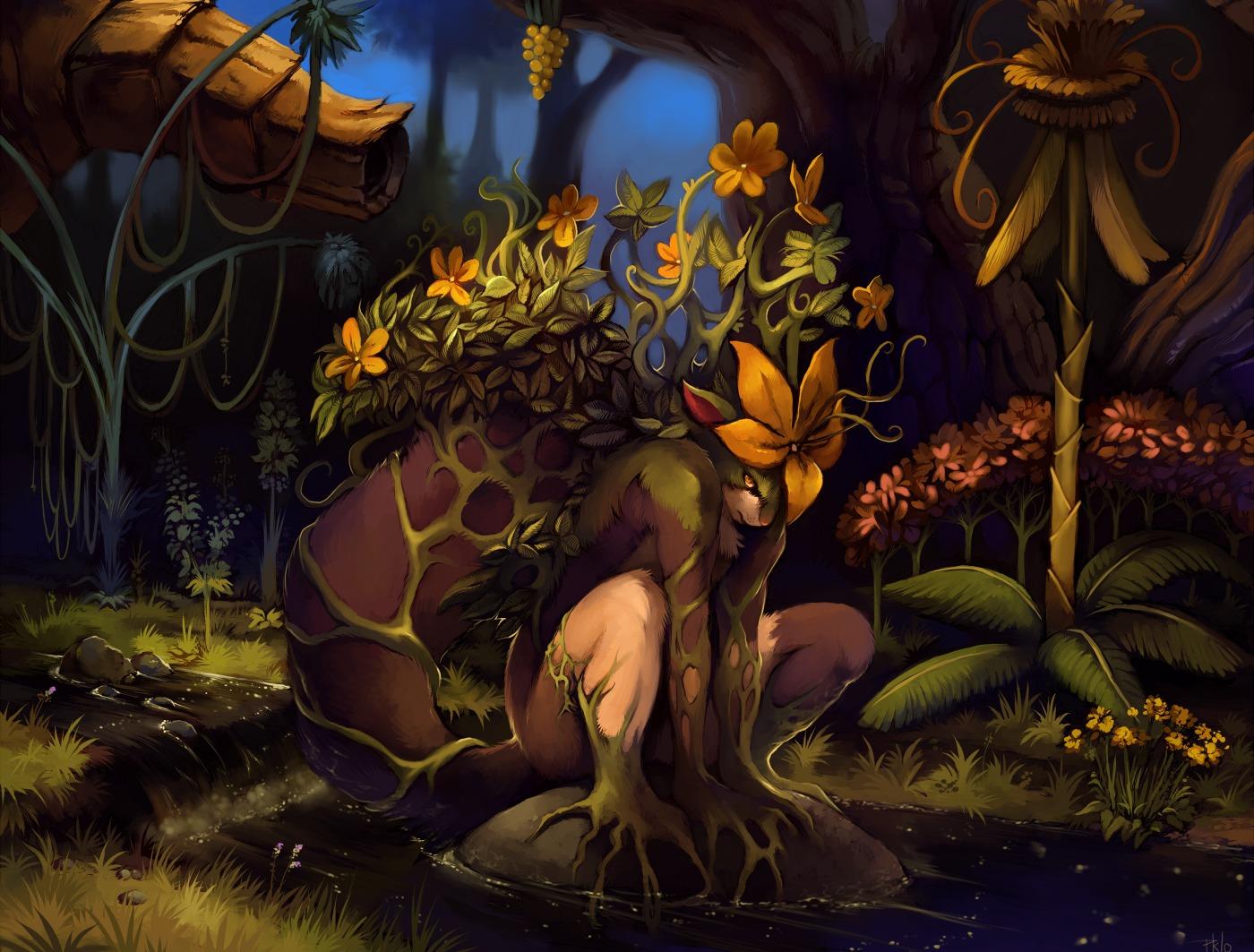 Creature Elemental Forest 1400x1063