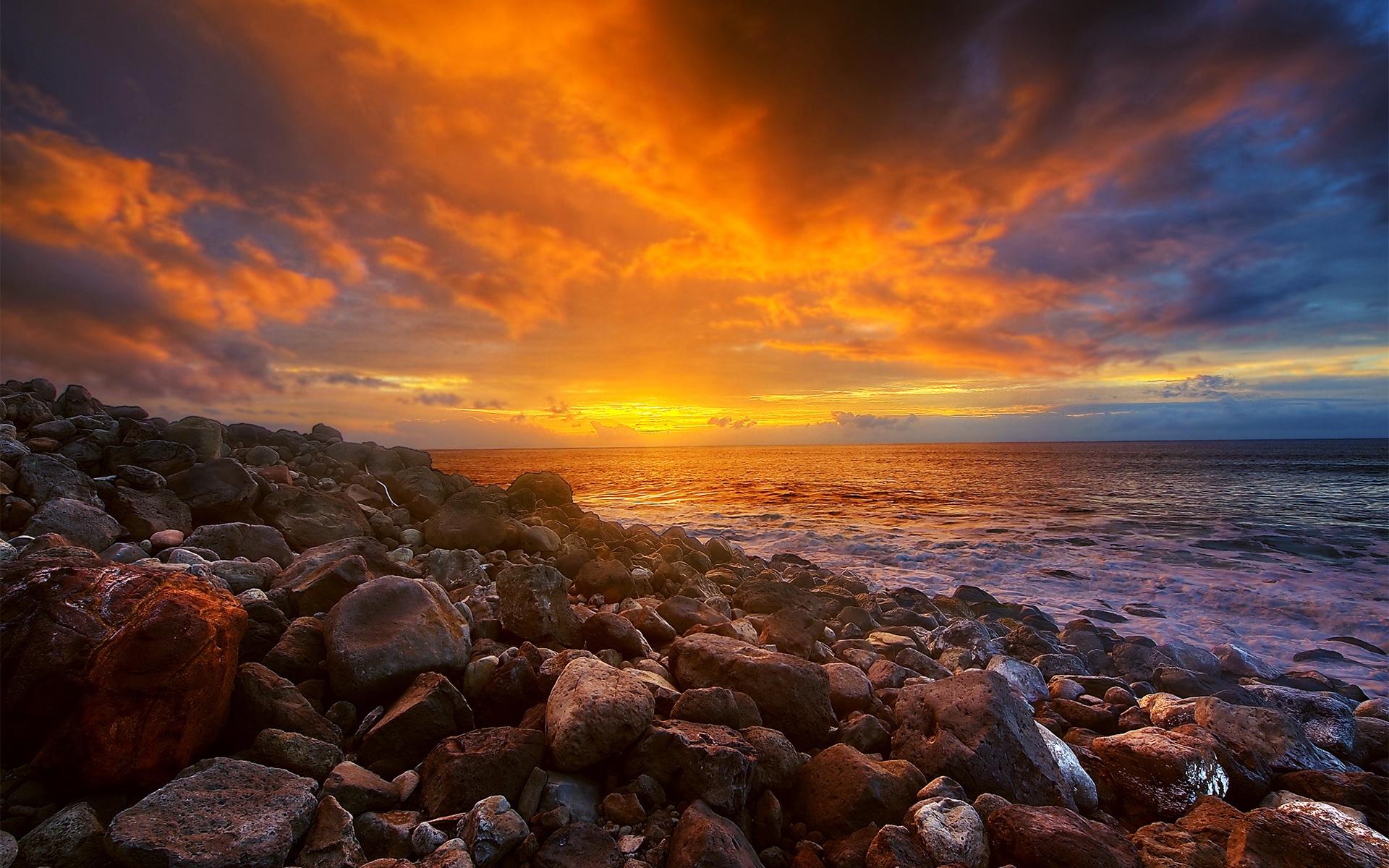 Earth Sunset 1920x1200