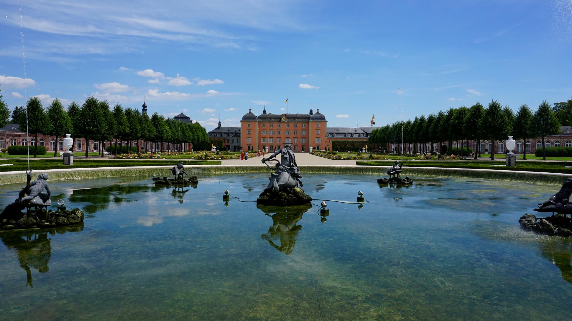 Man Made Schwetzingen Palace 1920x1080