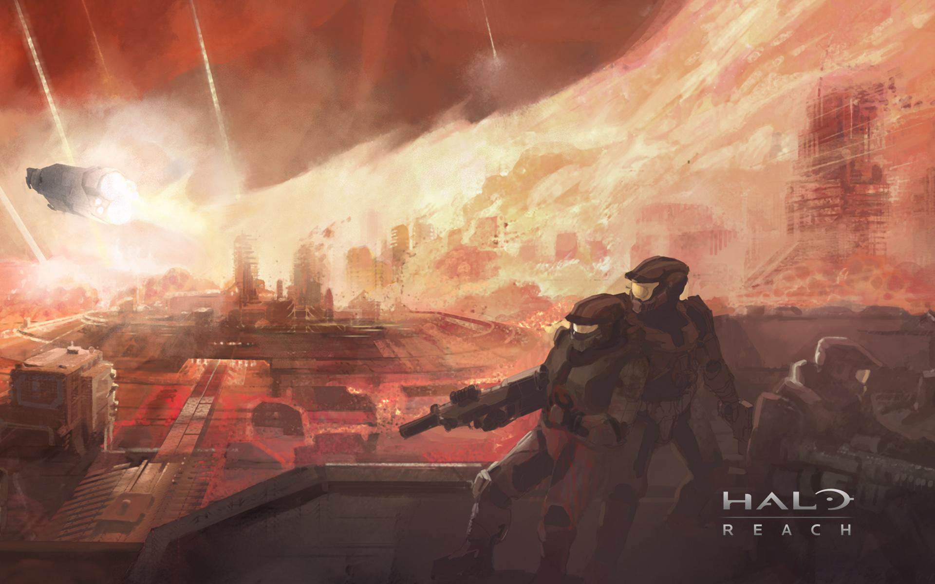 Video Game Halo Reach 1920x1200