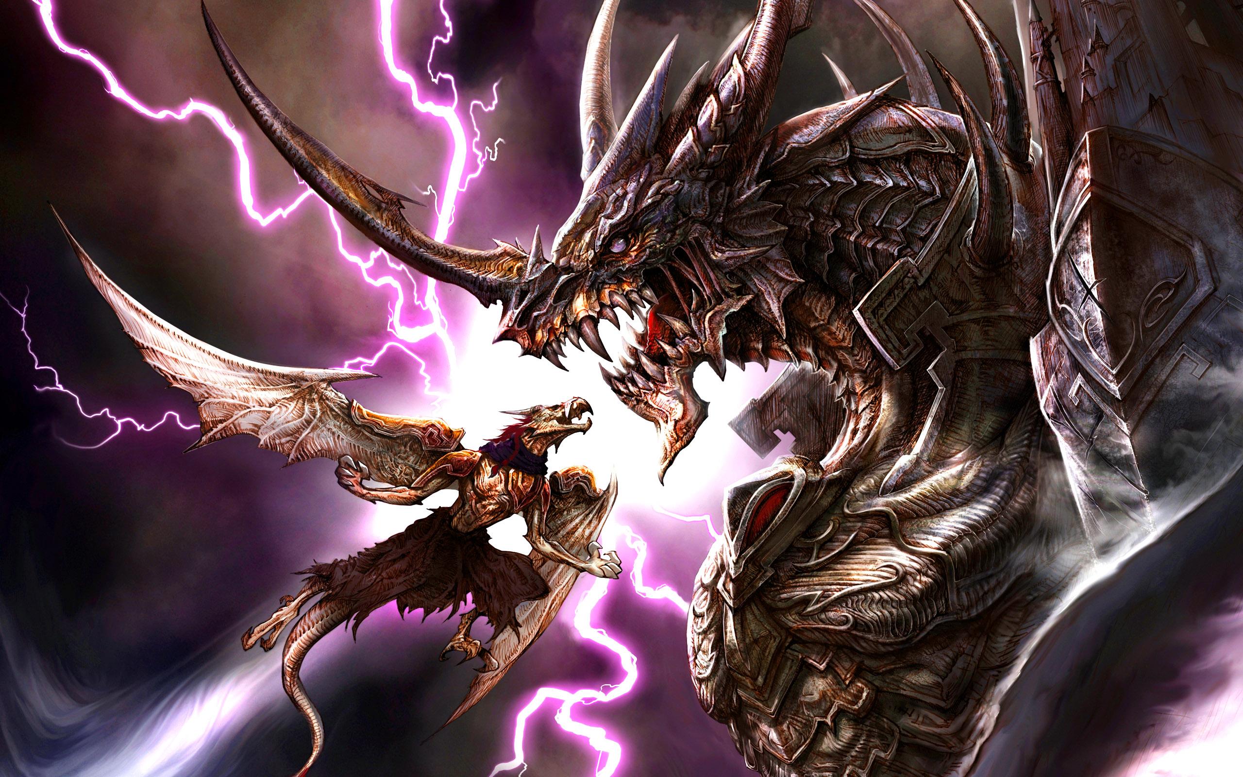 Dragon 2560x1600