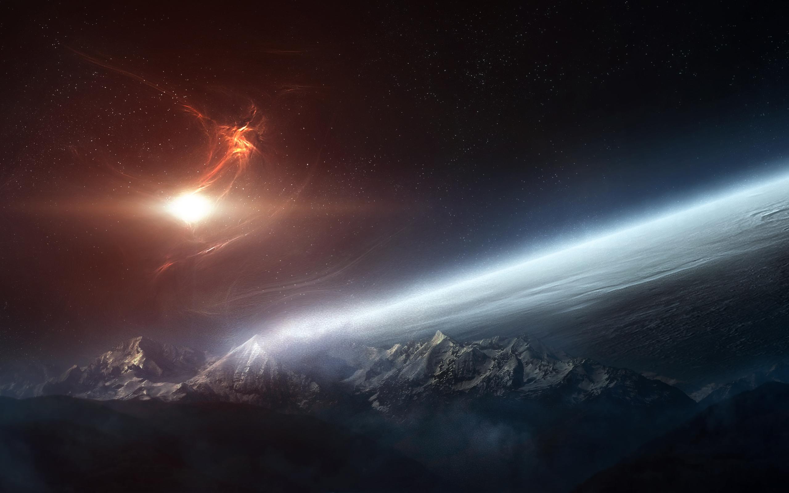 Sci Fi Landscape 2560x1600