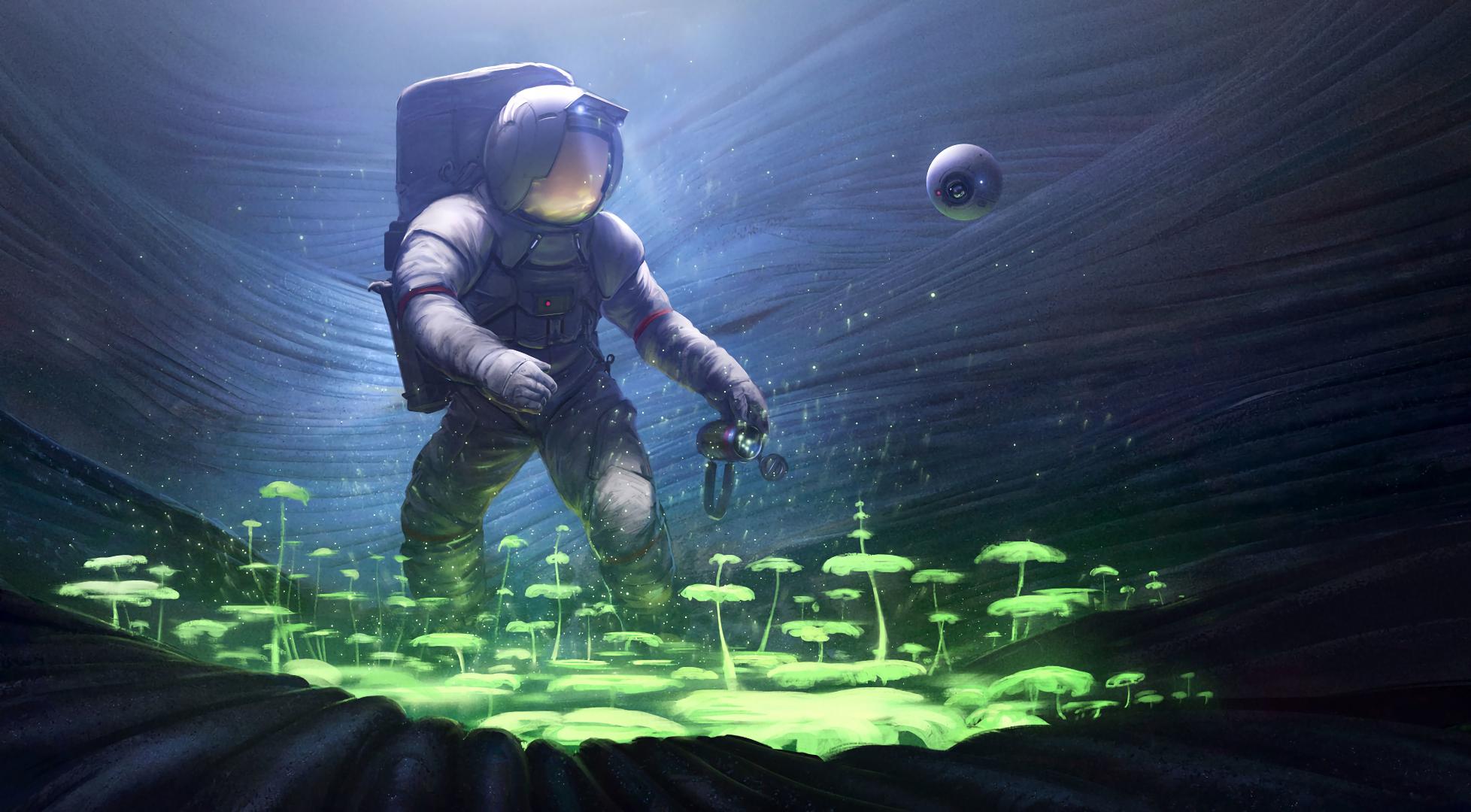 Sci Fi Astronaut 1956x1080