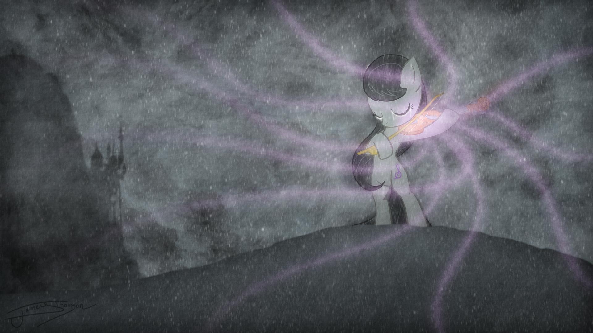 My Little Pony Octavia Melody Vector 1920x1080